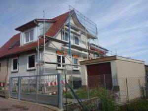 Abriss und Umbau eines Einfamilienhaus in Göbrichen